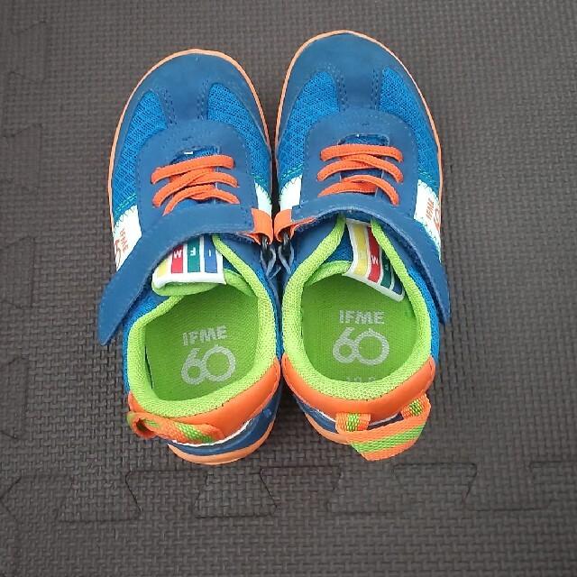 IFME イフミー シューズ スニーカー 18cm キッズ/ベビー/マタニティのキッズ靴/シューズ(15cm~)(スニーカー)の商品写真
