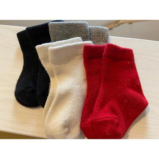ムジルシリョウヒン(MUJI (無印良品))の新生児 靴下(靴下/タイツ)