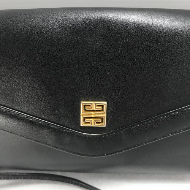 GIVENCHY(ジバンシィ)のジバンシー ヴィンテージ レザー ショルダーバッグ 肩がけ レディースのバッグ(ショルダーバッグ)の商品写真