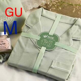 ジーユー(GU)の(新品) GU サボン アロエパジャマ M(パジャマ)