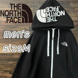 ザノースフェイス(THE NORTH FACE)のTHE NORTH FACE ノースフェイス デカロゴ 刺繍 ジップ パーカー(パーカー)