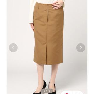 ジャーナルスタンダード(JOURNAL STANDARD)のJOURNAL STANDARD ソフトスリットスカート(ひざ丈スカート)