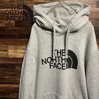 ザノースフェイス(THE NORTH FACE)のNORTH FACE ノースフェイス  ビッグロゴ オーバーサイズ パーカー(パーカー)