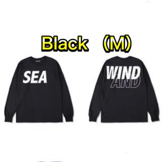 SEA - WIND AND SEA L/S T-SHIRT  black M 黒 ロンT