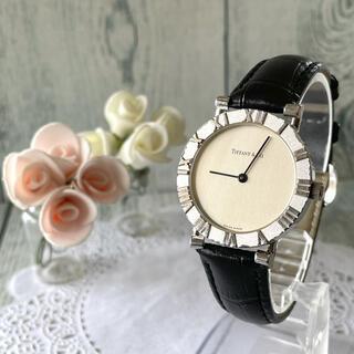 Tiffany & Co. - 【動作OK】TIFFANY&Co ティファニー アトラス 腕時計 ボーイズ