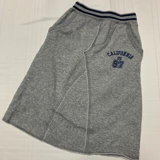 ジーユー(GU)のGU 裏起毛ロングスカート 110cm(スカート)