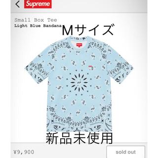 Supreme - supreme small box tee バンダナ bandana