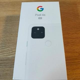 Google - 【新品/未使用/SIMフリー】Google Pixel4a 5G★一括購入★