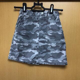 ジーユー(GU)のGU キッズ スカート カモフラ 130cm(スカート)