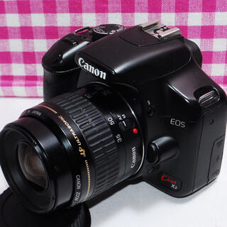 キヤノン(Canon)の☆感動をいつまでも☆Canon Kiss x2 一眼レフカメラ♪★安心保証★(デジタル一眼)