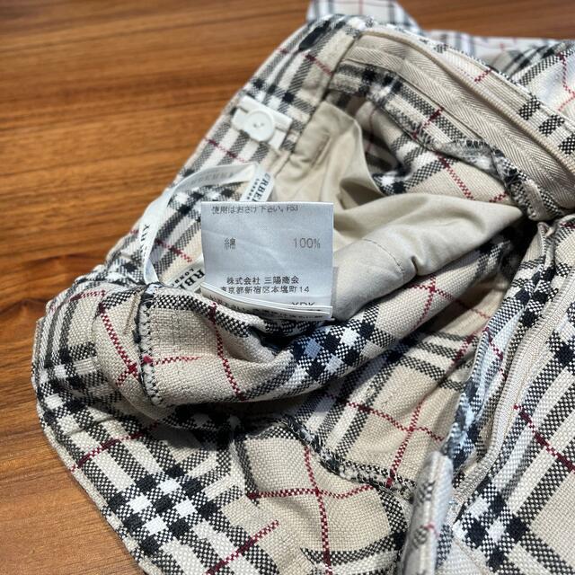BURBERRY(バーバリー)の値下げしました バーバリー サイズ 120A 半ズボン Burberry キッズ/ベビー/マタニティのキッズ服女の子用(90cm~)(パンツ/スパッツ)の商品写真