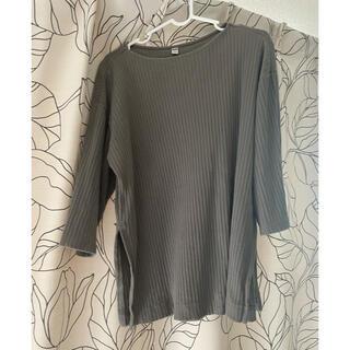 ユニクロ(UNIQLO)のユニクロ カットソー(Tシャツ/カットソー(七分/長袖))
