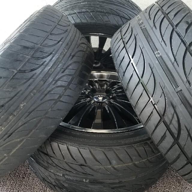 セルシオ/クラウン/マジェンタ/フーガ/シーマ 自動車/バイクの自動車(タイヤ・ホイールセット)の商品写真