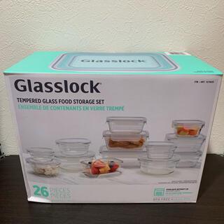 コストコ(コストコ)の最安値 新品未使用 グラスロック耐熱ガラス容器26点 キッチン食品保存容器(容器)