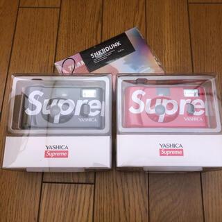 シュプリーム(Supreme)の本物鑑定済 シュプリーム ヤシカ MF-1 カメラ ブラック レッド セット販売(その他)
