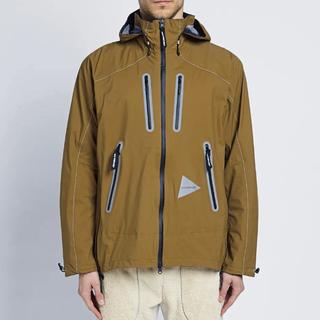 ザノースフェイス(THE NORTH FACE)のand wander event rain jacket アンドワンダー(マウンテンパーカー)
