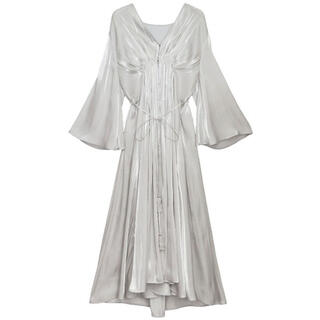 Ameri VINTAGE - Ameri VINTAGE MEDI GATHER NEGLIGEE DRESS