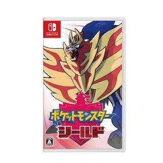 ニンテンドースイッチ(Nintendo Switch)の新品未開封ポケットモンスター シールド (携帯用ゲームソフト)