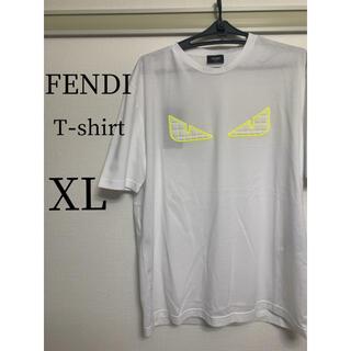 FENDI - 【新品】FENDI(フェンディ)  Tシャツ  ホワイト XL