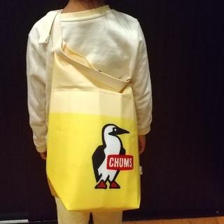 CHUMS - 【人気です!便利です!】CHUMS×十六茶ノベルティ リメイク肩掛けバッグ