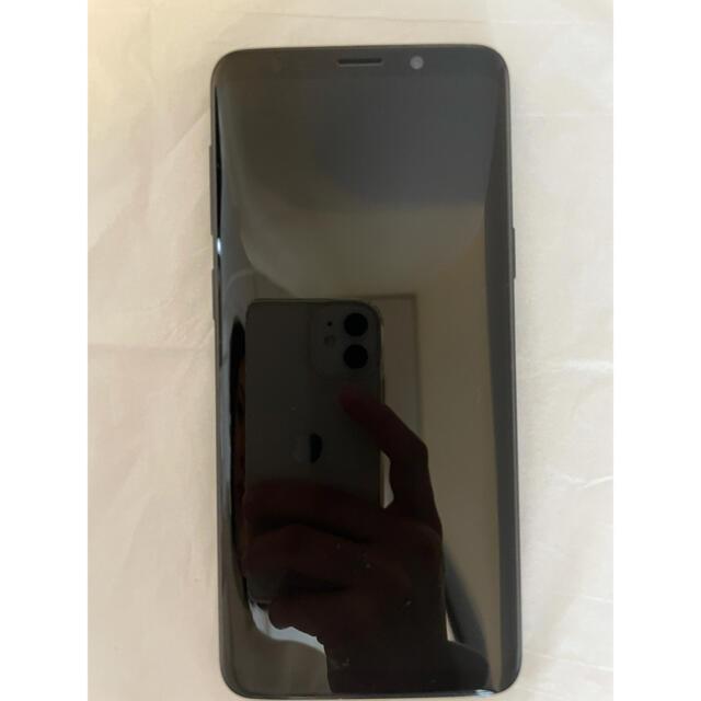 Galaxy(ギャラクシー)のギャラクシーS9 ミッドナイトブラック SCV38 スマホ/家電/カメラのスマートフォン/携帯電話(スマートフォン本体)の商品写真