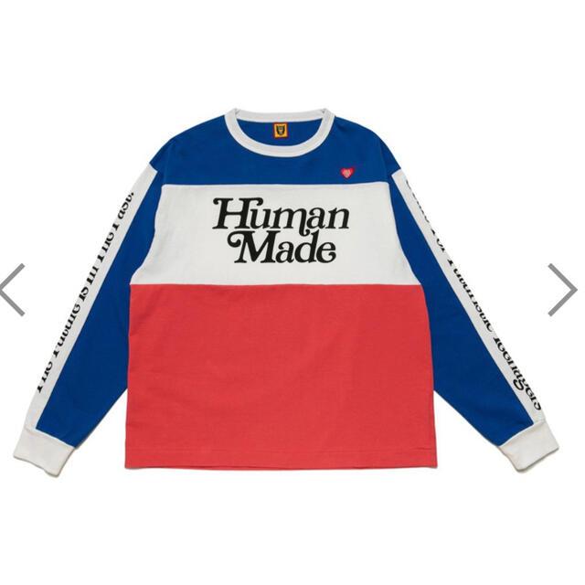 Supreme(シュプリーム)のヒューマンメイド ガールズドントクライ ロンT メンズのトップス(Tシャツ/カットソー(七分/長袖))の商品写真
