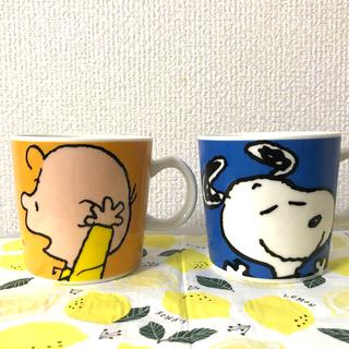 ピーナッツ(PEANUTS)のスヌーピーマグカップ 2個セット(グラス/カップ)