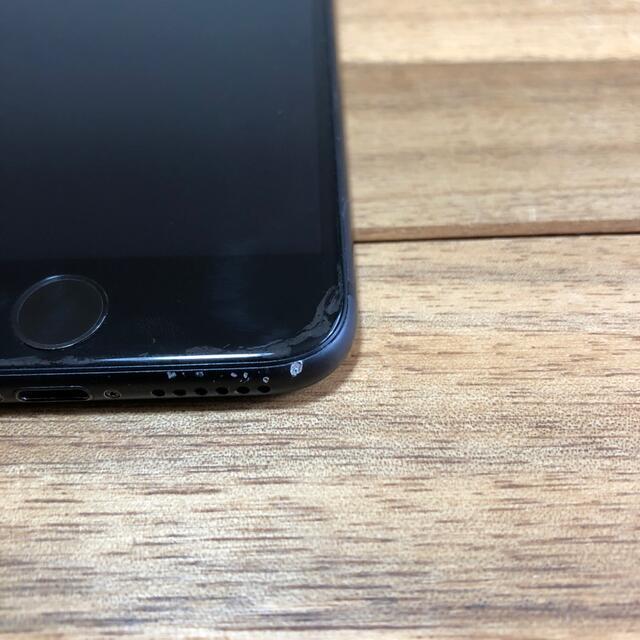 Apple(アップル)のiphone7 128GB ブラック スマホ/家電/カメラのスマートフォン/携帯電話(スマートフォン本体)の商品写真