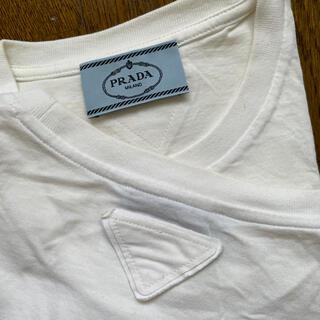 プラダ(PRADA)の新品未使用 PRADA プラダ 白Tシャツ(Tシャツ(半袖/袖なし))