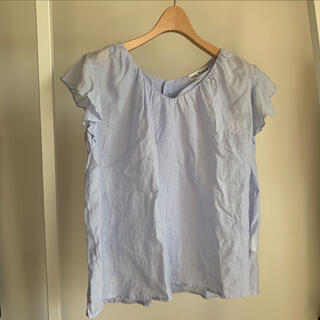 ドアーズ(DOORS / URBAN RESEARCH)のアーバンリサーチ リネン  水色(シャツ/ブラウス(半袖/袖なし))