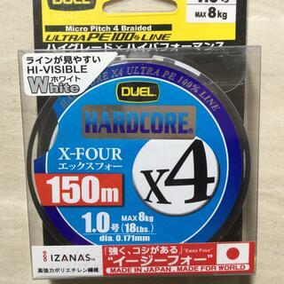 デュエル PEライン ハードコア X4 1.0号 150m(釣り糸/ライン)