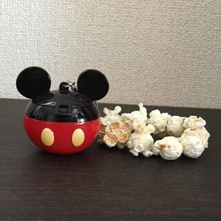 ディズニー(Disney)のミッキー ポップコーンキーホルダー(ぬいぐるみ)