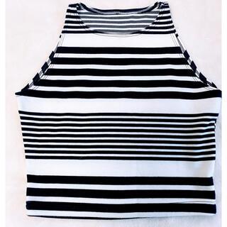 American  apparel  アメアパ タンクトップ ボーダーTシャツ