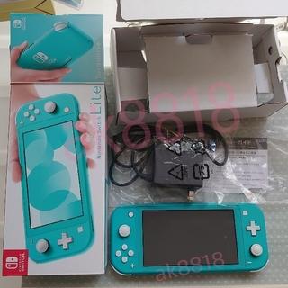 Nintendo Switch - 【ターコイズ】Nintendo Switch Lite 本体 ニンテンドー