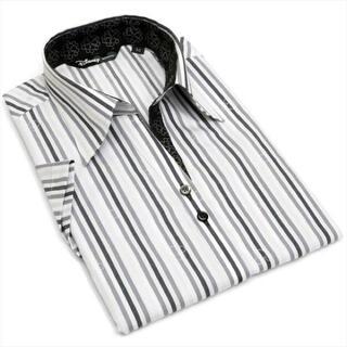 ディズニー(Disney)の東京シャツ ブリックハウス    ディズニー半袖ブラウス Mサイズ(シャツ/ブラウス(半袖/袖なし))