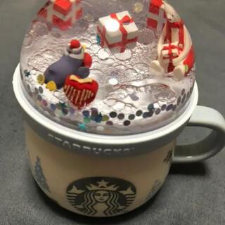 スターバックスコーヒー(Starbucks Coffee)のスターバックスマグカップ スノードーム クリスマスベア(マグカップ)