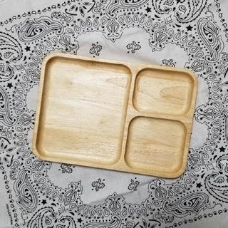 ボヌール(Bonheur)の木製プレート 3枚セット①(食器)
