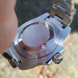 セイコー(SEIKO)のセイコー SEIKO サブマリーナ ブルー文字盤  セラミック カスタム (腕時計(アナログ))