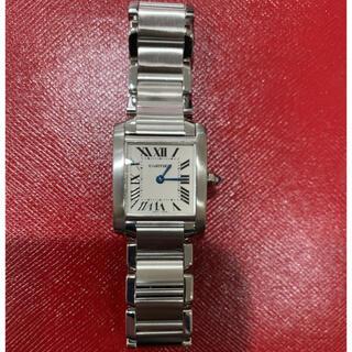 Cartier - 数回 極美品 カルティエ タンクフランセーズ SM レディース SS 箱