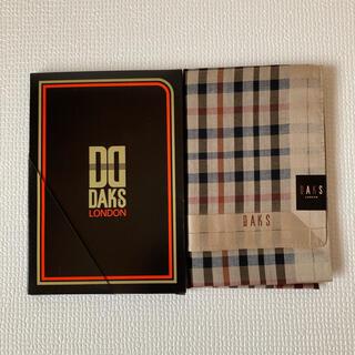 ダックス(DAKS)の【新品 未使用】DAKS LONDON ダックス ハンカチ ギフトボックス入り(ハンカチ/ポケットチーフ)
