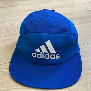アディダス(adidas)の54-57cm アディダス ジュニア フットボーキャップ(新品送料込)(帽子)