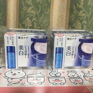 アクアレーベル(AQUALABEL)のスペシャルジェルクリームA ホワイト90g +ホワイトケアローション18g 2箱(オールインワン化粧品)