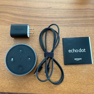 エコー(ECHO)のEcho Dot (エコードット) 第2世代 ブラック(スピーカー)