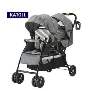 KATOJI - 美品 2人乗りベビーカー