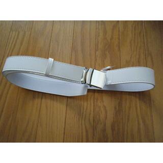 レア 警備 交通 白バイ 白帯革ベルト コスプレ(小道具)