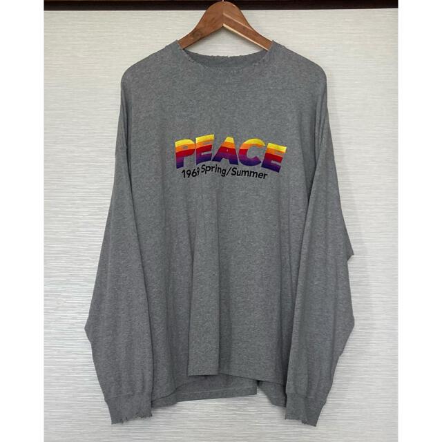 DAIRIKU 21ss PEACE ロングT メンズのトップス(Tシャツ/カットソー(七分/長袖))の商品写真