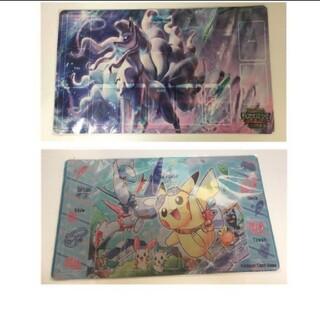 ポケモン(ポケモン)のポケモン プレイマット 2枚セット(シングルカード)