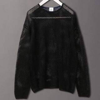 BEAUTY&YOUTH UNITED ARROWS - Roku 6 mesh knit メッシュニット