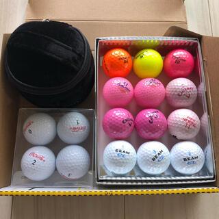 キャロウェイゴルフ(Callaway Golf)の未使用含む【ロストボール】ゴルフボール 16球 ボールポーチ付き(その他)