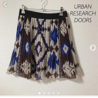 ドアーズ(DOORS / URBAN RESEARCH)のURBAN RESEARCH DOORS フレア ミニスカート(ミニスカート)